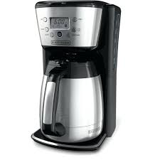 12 Cup Thermal Carafe Coffee Maker Kitchenaid Glass Review Cuisinart Stainless Steel Programmable