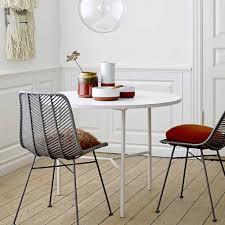 bloomingville rattanstuhl lena grau wohnzimmer design
