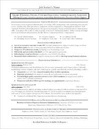 Resume Office Administrator Sample Resumes For Manager It