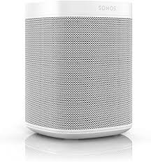 sonos one 1 voice controlled smart speaker white discontinued by manufacturer