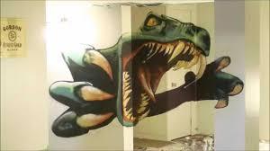Dinosaur Timelapse Spray Paint