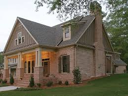 Brick House Styles Pictures by The Green Trace Craftsman Home Has 4 Bedrooms 3 Baths And 1