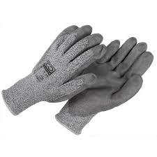 gant anti coupure cuisine gants anti coupure xo enduit pu gris