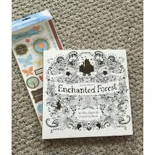 Hey Guys Happy Friday I Hope Youre All Doing Well Am Here To Review The Infamous Enchanted Forest Adult Coloring Book By Johanna Basford