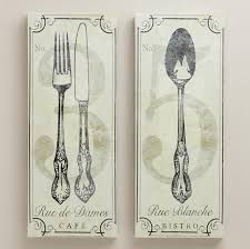 Wooden Fork Spoon Knife Wall Decor by Wall Art Ideas Design Letters Paintable Fork Wall Art Sculptures