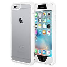 Amzer Full Body Hybrid Case For iPhone 6 Plus White Price in India