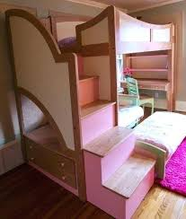 Bunk Bed Desk Combo Plans by Loft Bed And Desk Combo Image Of Kids Full Bunk Bed With Desk Loft