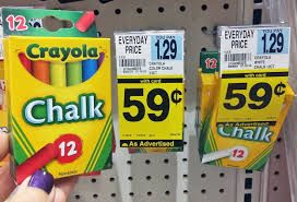 Rite Aid Christmas Tree Decorations by Back To At Rite Aid 0 59 Crayola Chalk U0026 More The