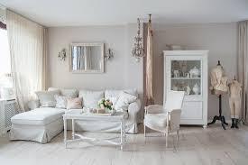 wohnzimmer in weiß und beige mit bild kaufen 12437824