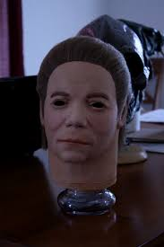 Halloween Mask William Shatners Face by 1998 Don Post Studios William Shatner Mask Michael Myers Net