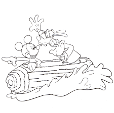 Disneyland Coloring Pages 04