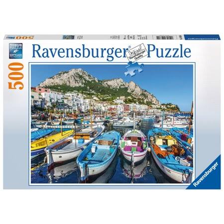 Ravensburger Colorful Marina Jigsaw Puzzle - 500 Pieces