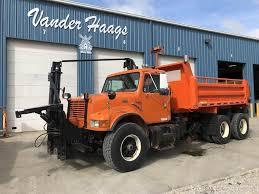 1998 International 4900 Farm / Grain Truck For Sale, 188,380 Miles ...