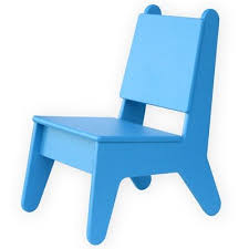 Pkolino Little Reader Chair Blue by Kids Chairs