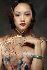 73 best ladies in cheongsam qipai china images on pinterest