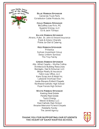 Heart Of The Holidays Auction Sponsors And Opportunities