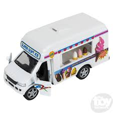 100 Toy Ice Cream Truck 5 Die Cast Vehicles S Novelties