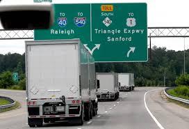100 Volvo Trucks Greensboro FedEx Test Truck Platooning Technology On Triangle Expressway