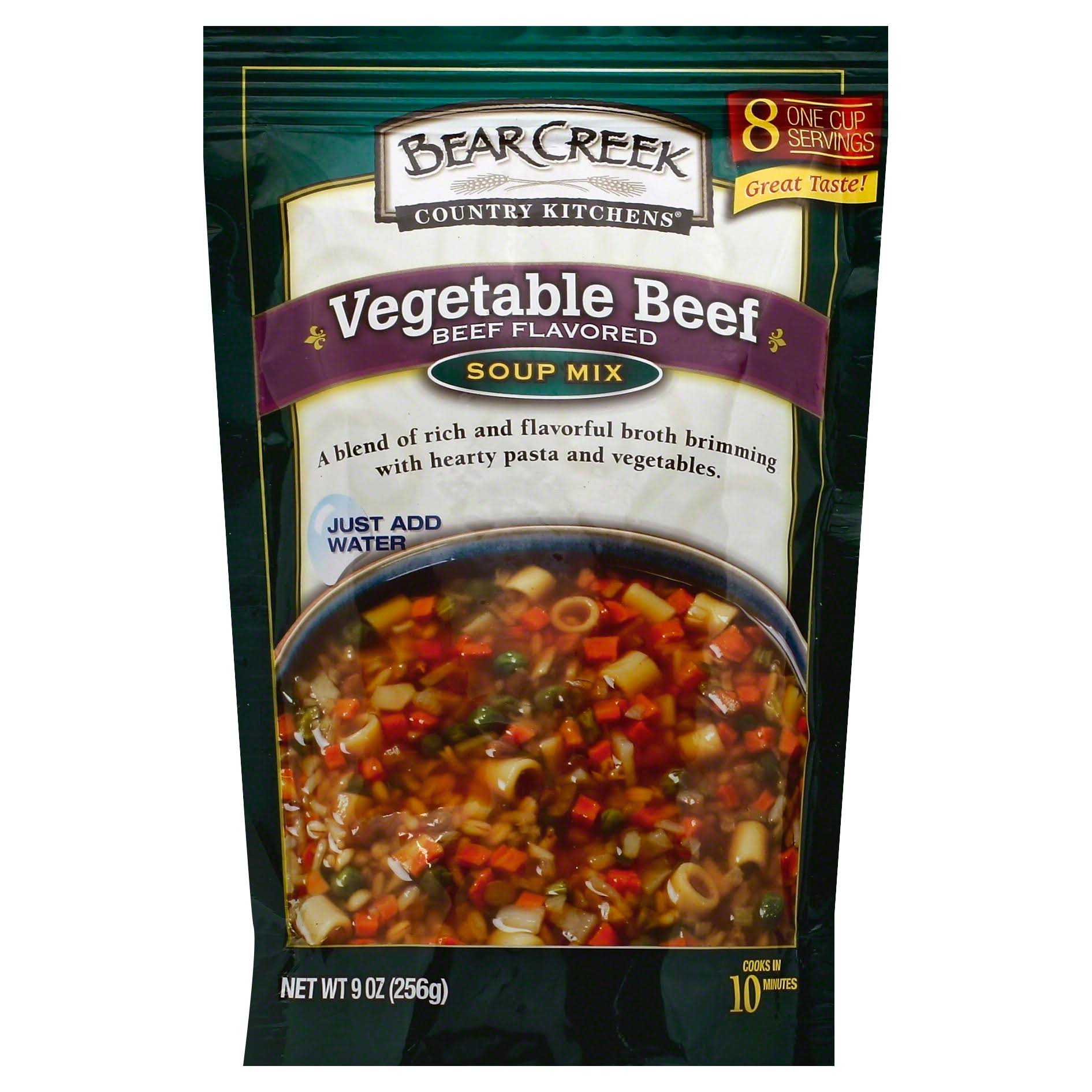 Bear Creek Country Kitchens Soup Mix - Vegetable Beef, 256g