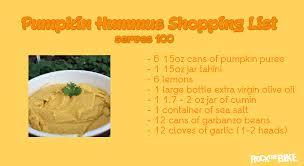 Pumpkin Hummus Recipe by Pumpkin Hummus Rock The Bike