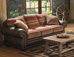 Rustic Bear Creek Sofa