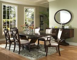 Oval Rugs For Dining Room Contemporary Mirrors In Shape With Wood Floor