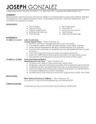 Lube Tech Job Description Resume Technician Examples Downloadable Mechanic