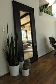 Leaning Large Floor Mirror