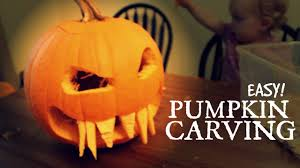 Funny Pumpkin Carvings Youtube by Easy Fangs Pumpkin Carving Pumpkin Competition Entry Youtube