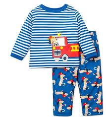 Baby Boys Pajamas Fire Truck Rescue Dog 18 Months - Walmart.com