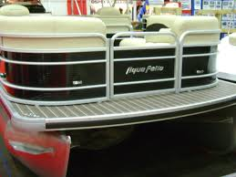 Aqua Patio Pontoon Bimini Top by 2016 Aqua Patio 240 Center Bar Kent U0027s Harbor Inc