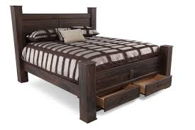 ashley quinden bed with storage mathis brothers furniture