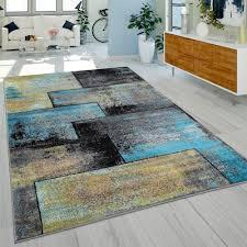 designer rug rust effect