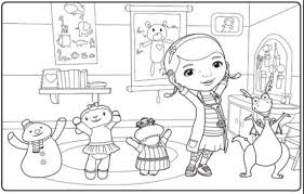 Online For Kid Disney Jr Coloring Pages 30 About Remodel Free Colouring With