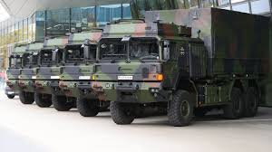 100 6x6 Military Truck Rheinmetall Transfers First Batch Of 20 HX2 S To