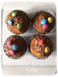 marmor nutella muffins aus dem thermomix familienblog