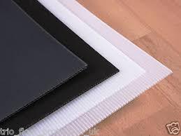 Image Is Loading Correx Cordek Fluted Plastic Hard Floor Protection Sheet