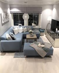 blue sofa cozy living room blue cozymediaroom living