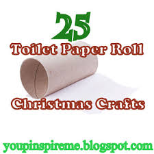 25 Toilet Paper Roll Christmas Crafts Advent Calendars People
