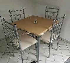 kleine sitzecke esstisch tisch 4 stühle guter zustand