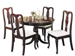 Amazon.com - ACME 06005 5-Piece Queen Ann Dining Set, Cherry Finish ... Encarnacion Ding Chair Sold Out Henkel Harris Mahogany Queen Anne Chairs Set Of 6 Rustic Circular Farmhouse Shabby Chic Ding Table 4 Vintage Chairs Local Delivery In Hammersmith Ldon Gumtree Evolution Seven Piece With By Legacy Classic At Lindys Fniture Company Rooms Cherie Rose Collection Tone On Duncan Phyfe Painted Regency Table Suite Ebay Im So Doing This Someday To My Set Painted White Queen Anne Andersen Stauffer Makers Seating Pladelphia Lavinia Double Extension Double Extension 31m In Stock Room Cloth Homesfeed