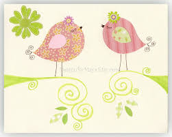 Pottery Barn Baby Wall Decor by Love Birds For Baby Nursery Room Nursery Love Birds