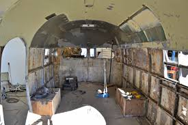 100 Airstream Trailer Restoration RESTORATION 1950 Clipper VARR