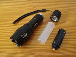 unboxing led flashlight torch linterna ultrafire e17 cree xml t6