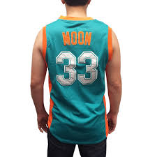 Jackie Moon 33 Flint Tropics Green Basketball Jersey Semi Pro
