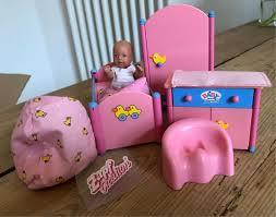 mini baby born miniworld schlafzimmer bett