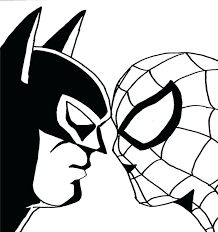 Full Image For Easy Batman Coloring Pages I Missed Whichever Episode This Was With The
