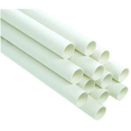 Genova Schedule 40 PVC DWV Cell Pipe - 4in x 10ft
