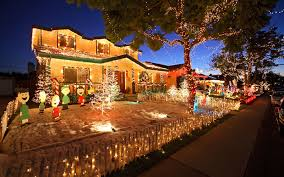 Silver Tip Christmas Tree Los Angeles by The Best Christmas Light Displays In Every State Travel Leisure