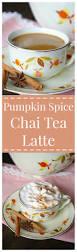 Pumpkin Spice Chex Mix by Pumpkin Spice Chai Tea Latte U2013 A Fall Twist On A Classic Drink A